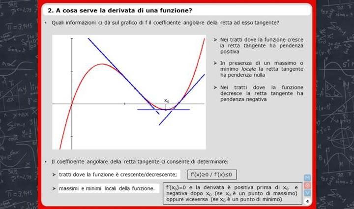 Videolezione MOV sulle derivate