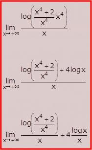 Limite di una funzione - Un esempio: step 3, 4 e 5