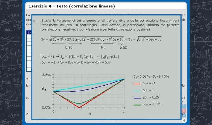 Relazioni statistiche: coefficiente di correlazione lineare